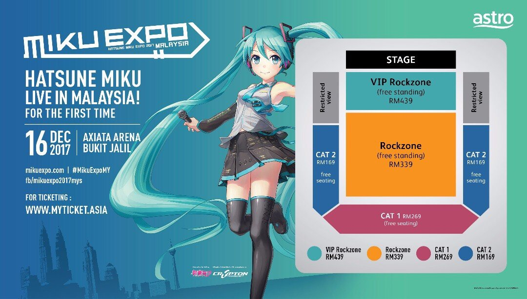 VIDEO: #MikuExpoMY Announcement Highlights